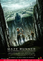 Maze Runner - Die Auserwählten im Labyrinth - Filmplakat