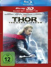 Thor - The Dark Kingdom (Blu-ray 3D, + Blu-ray 2D) Filmplakat