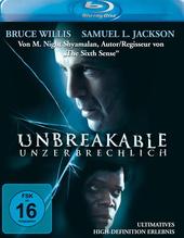 Unbreakable - Unzerbrechlich Filmplakat