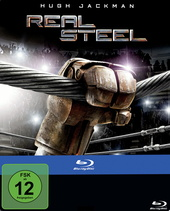 Real Steel (Limited Edition, Steelbook) Filmplakat