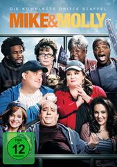 Mike & Molly - Die komplette dritte Staffel (3 Discs) Filmplakat