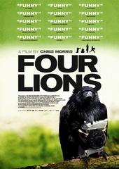 Four Lions Filmplakat