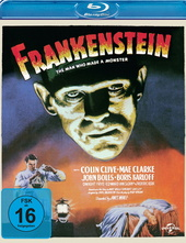 Frankenstein - The Man Who Made a Monster Filmplakat