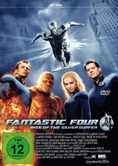Fantastic Four - Rise of the Silver Surfer (Einzel-DVD) Filmplakat