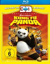 Kung Fu Panda (Blu-ray 3D, + Blu-ray 2D) Filmplakat