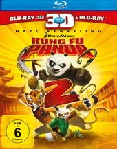 Kung Fu Panda 2 (Blu-ray 3D, + Blu-ray 2D) Filmplakat