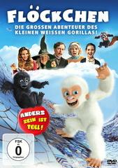 Flöckchen - Die großen Abenteuer des kleinen weißen Gorillas! Filmplakat