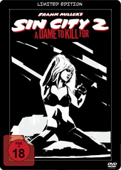 Sin City 2: A Dame to Kill For (Limited Edition, Steelbook) Filmplakat
