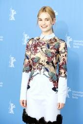 Lily James Künstlerporträt 911463 Lily James / Internationale Filmfestspiele Berlin 2015 / Berlinale 2015