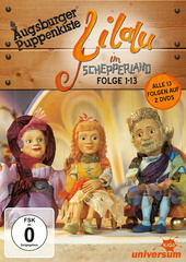 Augsburger Puppenkiste - Lilalu im Schepperland, Folge 01-13 (2 Discs) Filmplakat