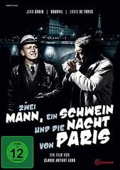 Zwei Mann, ein Schwein und die Nacht von Paris Filmplakat