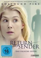 Return to Sender - Das falsche Opfer Filmplakat