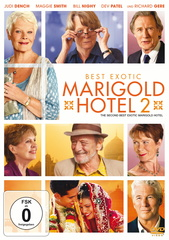 Best Exotic Marigold Hotel 2 Filmplakat