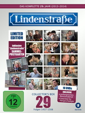 Die Lindenstraße - Das komplette 29. Jahr, Folgen 1457-1508 (Collector's Box Limited Edition,10 Discs) Filmplakat