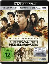 Maze Runner - Die Auserwählten in der Brandwüste (4K Ultra HD) Filmplakat