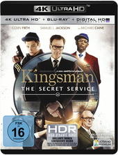 Kingsman: The Secret Service (4K Ultra HD) Filmplakat