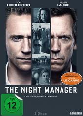 The Night Manager - Die komplette 1. Staffel (3 Discs) Filmplakat