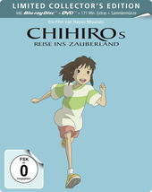 Chihiros Reise ins Zauberland (Limited Collector's Edition, 2 Discs) Filmplakat