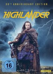 Highlander - Es kann nur einen geben (30th Anniversary Edition, 2 Discs) Filmplakat