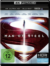Man of Steel (4K Ultra HD, 2 Discs) Filmplakat