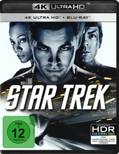 Star Trek (4K Ultra HD, + Blu-ray) Filmplakat