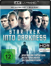 Star Trek Into Darkness (4K Ultra HD, + Blu-ray) Filmplakat