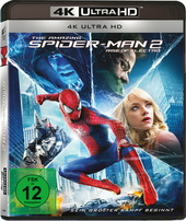 The Amazing Spider-Man 2: Rise of Electro (4K Ultra HD) Filmplakat
