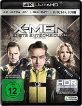 X-Men: Erste Entscheidung (4K Ultra HD, + Blu-ray) Filmplakat