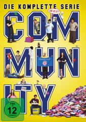 Community - Die komplette Serie (17 Discs) Filmplakat