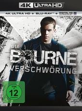Die Bourne Verschwörung (4K Ultra HD + Blu-ray) Filmplakat