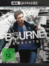 Das Bourne Vermächtnis (4K Ultra HD + Blu-ray) Filmplakat