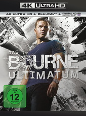 Das Bourne Ultimatum (4K Ultra HD + Blu-ray) Filmplakat