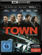 The Town - Stadt ohne Gnade (4K Ultra HD, 2 Discs) Filmplakat