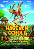 Die Häschenschule - Jagd nach dem goldenen Ei - Filmplakat