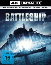 Battleship (4K Ultra HD + Blu-ray) Filmplakat