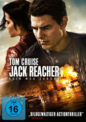 Jack Reacher: Kein Weg zurück Filmplakat