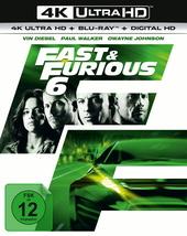 Fast & Furious 6 (4K Ultra HD + Blu-ray) Filmplakat
