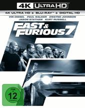 Fast & Furious 7 (4K Ultra HD + Blu-ray) Filmplakat