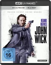 John Wick (4K Ultra HD + Blu-ray) Filmplakat