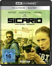 Sicario (4K Ultra HD + Blu-ray) Filmplakat
