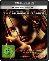 Die Tribute von Panem - The Hunger Games (4K Ultra HD + Blu-ray) Filmplakat