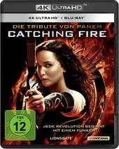 Die Tribute von Panem - Catching Fire (4K Ultra HD + Blu-ray) Filmplakat