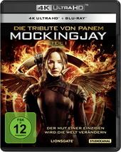 Die Tribute von Panem - Mockingjay, Teil 1 (4K Ultra HD + Blu-ray) Filmplakat