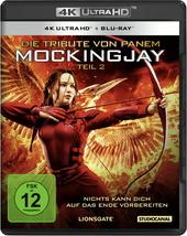 Die Tribute von Panem - Mockingjay, Teil 2 (4K Ultra HD + Blu-ray) Filmplakat