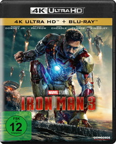 Iron Man 3 (4K Ultra HD + Blu-ray) Filmplakat
