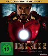 Iron Man 2 (4K Ultra HD + Blu-ray) Filmplakat