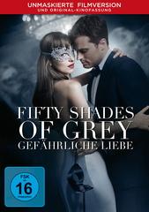 Fifty Shades of Grey - Gefährliche Liebe (Unmaskierte Filmversion) Filmplakat