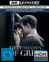 Fifty Shades of Grey - Geheimes Verlangen (4K Ultra HD + Blu-ray) Filmplakat
