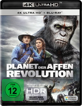 Planet der Affen: Revolution (4K Ultra HD + Blu-ray) Filmplakat