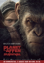 Planet der Affen: Survival - Filmplakat
